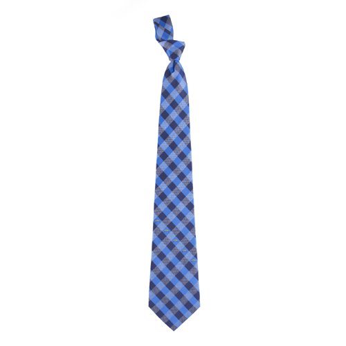 San Diego Chargers NFL Check Poly Necktie at Amazon.com