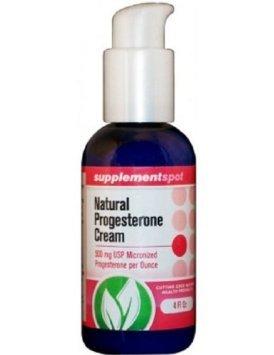 La crema de progesterona natural, 500mg micronizado de progesterona por Onza