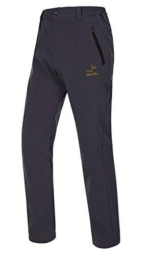 Wantdo Women's Waterproof Mountain Pant Fleece Snow Ski Pant(Black,US L) (Women Rain Pants compare prices)