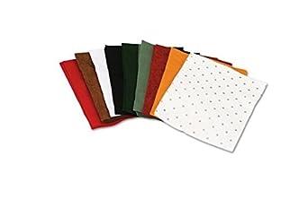 Chenille Kraft 3904 One Pound Felt Sheet Pack, Rectangular, 9 x 12, Assorted Colors