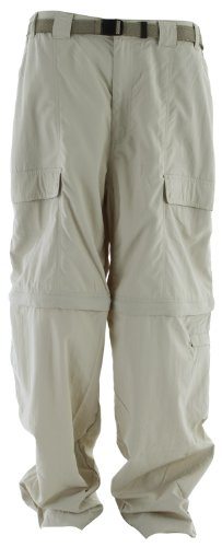 White Sierra Men'S Trail 32-Inch Inseam Convertible Pant, X-Large, Stone front-555193
