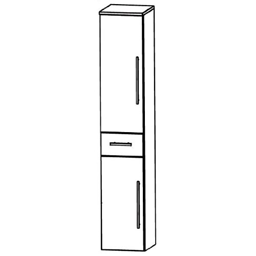 Puris Swing (HNA054A7ML / R Tall Cupboard Bathroom Cupboard 40 CM