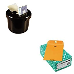 KITLEE40100QUA37763 - Value Kit - Quality Park Clasp Envelope (QUA37763) and Lee Ultimate Stamp Dispenser (LEE40100)