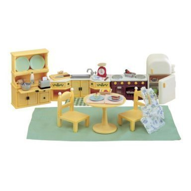 Calico Critters Kitchen Set & Accessories