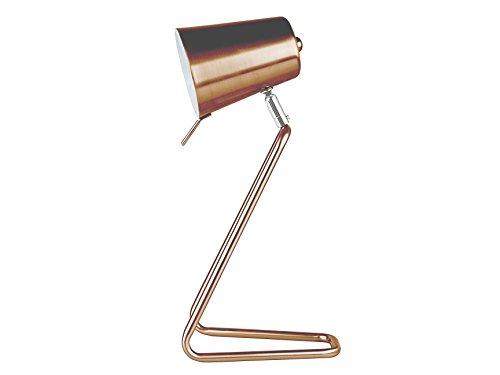LEITMOTIV Tischleuchte Z, metall, braun LM1128