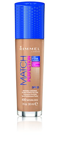 Rimmel London, Fondotinta Match Perfection, Natural Beige