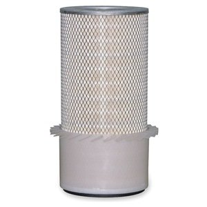 Air Filter, Element, OD 3 1/4 In, Fins