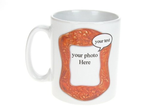 PERSONALISED Ceramic Mug with your own image and wording
