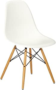 vitra eames plastic side chair dsw untergestell ahorn. Black Bedroom Furniture Sets. Home Design Ideas