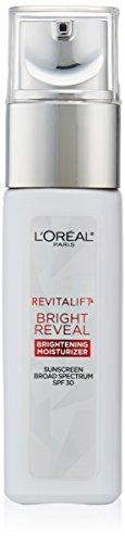 L'Oréal Paris Skincare Revitalift Bright Reveal Face Moisturizer with SPF 30, Glycolic Acid, Vitamin C and Pro-Retinol, 1 fl. oz.
