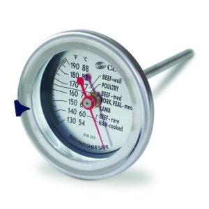 CDN IRM200 InstaRead Extra Large Dial Meat & Poultry Thermometer (Cdn Meat compare prices)