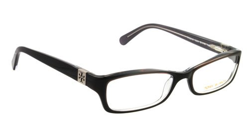 Tory Burch Tory Burch TY2010 1034 Eyeglasses Black/Charcoal Demo Lens Frame Size 51-16-135