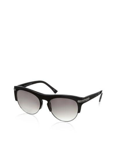Nina Ricci Women's NR3725 Sunglasses, Black/Silver