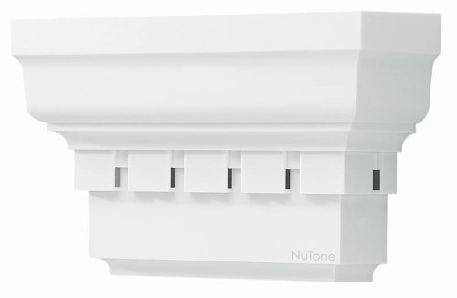 Nutone La139Wh Decorative Wired Two-Note Door Chime, Traditional Style Design, White Finish front-460163