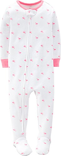 """Carter's Baby Girls' """"Happy Toucan"""" Footed Pajamas"""