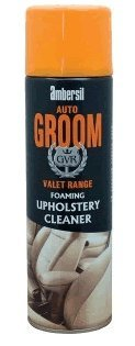 AMBERSIL AUTO GROOM FOAMING UPHOLSTERY CLEANER NEW