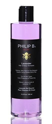Philip B Hair and Body Shampoo, Lavender, 11.8 Ounce