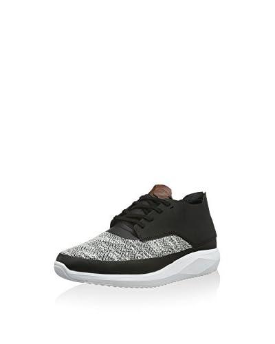 Boxfresh Sneaker Colum Sh Marl/Lea schwarz