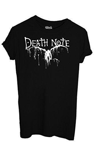 T-Shirt DEATH NOTE - CARTOON by iMage Dress Your Style - Donna-XL-NERA
