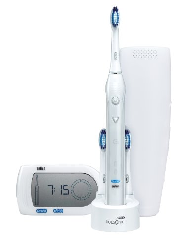 Braun Oral-B Pulsonic Smart Series Rechargeable Toothbrush with Smart Guide