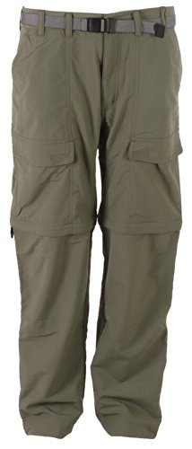 White Sierra Men'S Trail Convertible Pant (32-Inch Inseam), Sage, Large front-1051588
