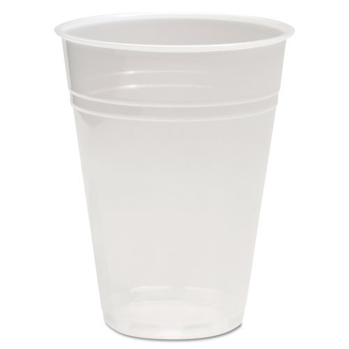 Boardwalk Translucent Plastic Cold Cups, 10oz - Includes ten packs of 100 each.