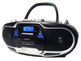 Supersonic SC-744 MP3/CD Cassette Recorder