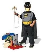Superhero Dress-Up Costume Trunk Set: Boy's Size 4-14