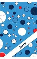 Etchbooks Jerry, Baseball, Graph, 6 X 9, 100 Pages