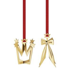 Georg Jensen Ornament 3411513 Bow & Crown 2013