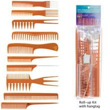 10pc. Bone Comb Styling Kit (Pack of 3)
