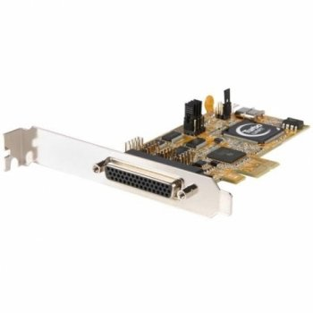 Startech 4 Port PCI Express RS232 Serial Adapter Card with 16950 UART