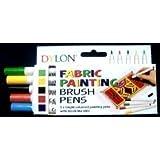 Dylon Fabric Pens Pack of 5 (Standard)