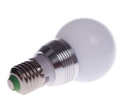 Lanlan Rgb Led Magic Light Bulb Lamp + Ir Remote Control 16 Colors Change