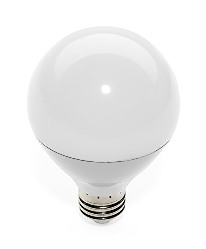 G7 Winnemucca LED Globe Style 50W Replacement G25 Vanity Light Bulb, Non-Dimmable Warm White ...