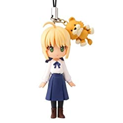 Fate / Stay Night Capsule -Q Fortune Figure Cell Phone Charm Strap ~ Saber ~ small Luck
