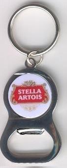 Stella Artois Belgian Beer Bottle Opener w/ Keychain (Bottle Opener Stella compare prices)