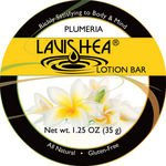 LaviShea Lotion Bar, 1.25-Ounce, Plumeria