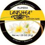 LaviShea Lotion Bar, 1.25-Ounce, Plumeria