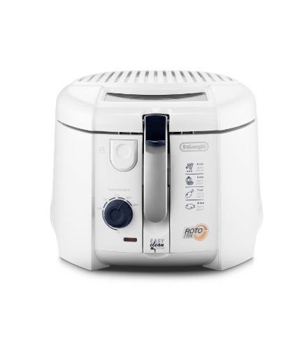 Delonghi F28311 1800W Non-USA Compliant Deep Fryer, 1Kg, White (Delonghi Basket compare prices)
