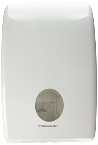 Aquarius 6945 Dispenser di asciugamani piegati, intercalati, colore: Bianco