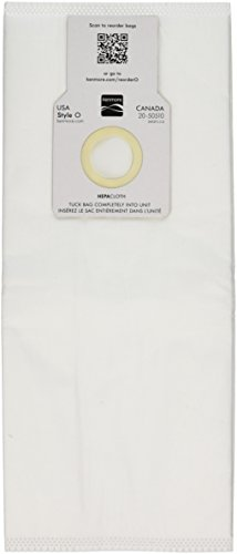 12 Kenmore Sears 50688/50690 U Vacuum Bags, Upright, Canister, Panasonic U-2, Miele Z, Sanyo PU-1 Vacuum Cleaners, MC-117PF, MC-E400, S170i, S170 - S179, S185, S300, SC-A or SC-U (Kenmore Bag U compare prices)