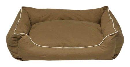Dog Gone Smart Khaki Lounger Dog Bed
