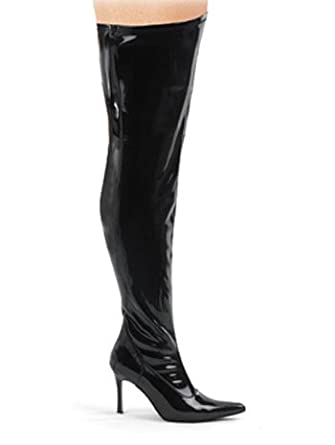 wide width shaft thigh high boots 9 clothing