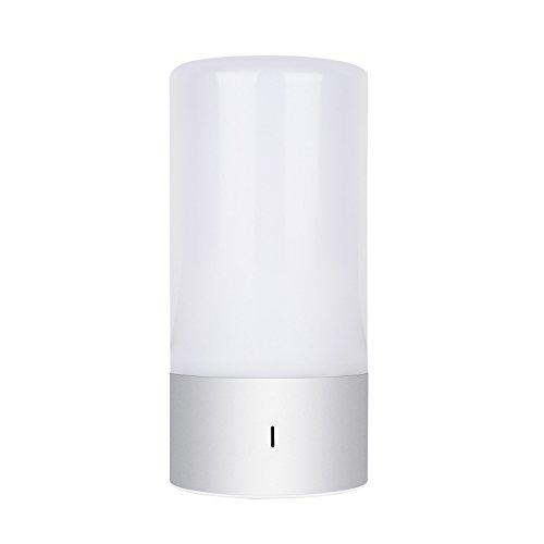 amzdeal-LED-Farbwechsel-Lampe-Atmosphre-Tischlampe-mit-Touch-Funktion-Stimmungslicht-RGB-Dimmbar-Warmwei