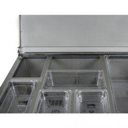 Kitchencraft induction-Coffre en acier inoxydable double chaudière CLPO//Bain-marie