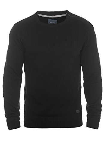 blend-franklin-strickpullover-grossemfarbeblack-70155