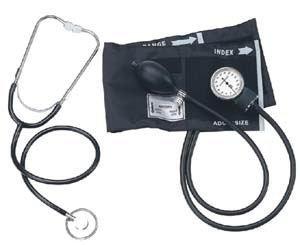 Med-Comfort Blutdruckmessgerät Oberarm Aneroid-Blutdruckmessgerät