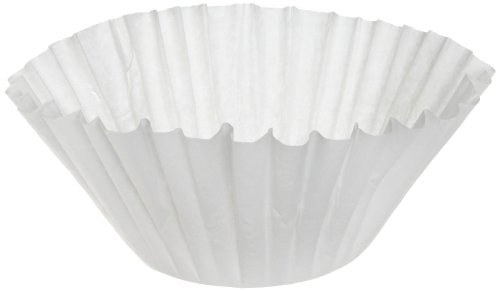 "Bunn 23X9 Biodegradable Coffee Filter for 10-Gallon Urn, 23"" x 9"" (Case of 250)"