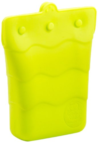 Kinderville Silicone Snack Pouch, Small, Green